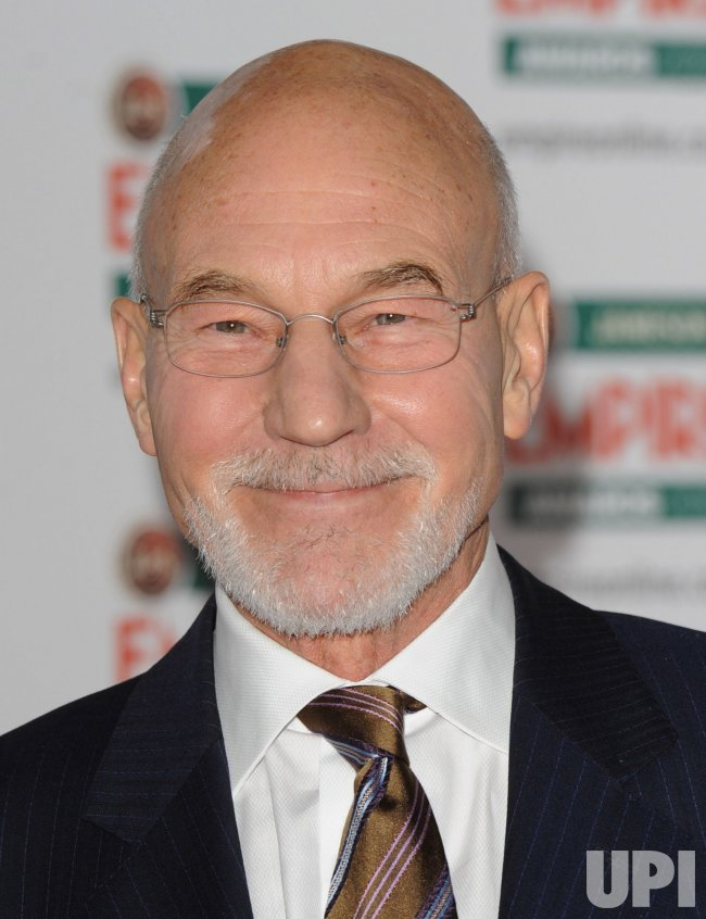"""Patrick Stewart attends """"The Empire Awards"""""""