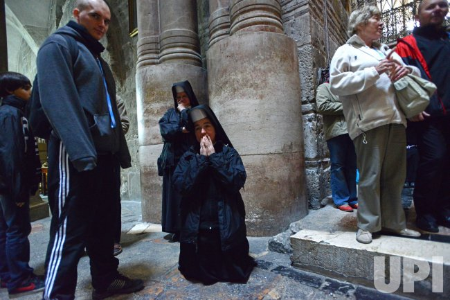 Ash Wednesday, Jerusalem