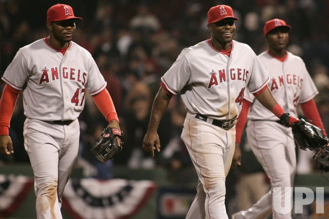 ALDS Los Angeles Angels vs Boston Red Sox