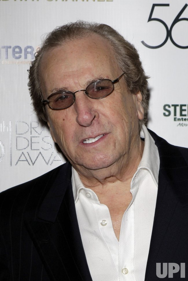 Danny Aiello arrives at the 56th Annual Drama Desk Awards at the Hammerstein Ballroom in New York