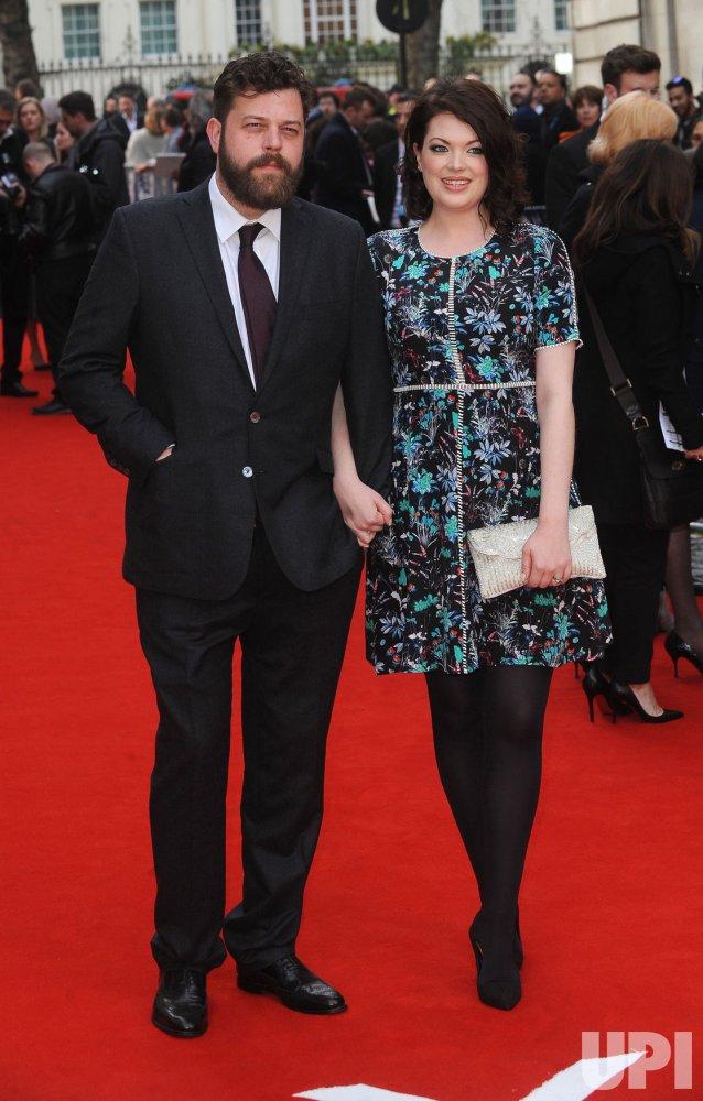 Jessica Jones attends the UK Premiere of Eye In The Sky in London