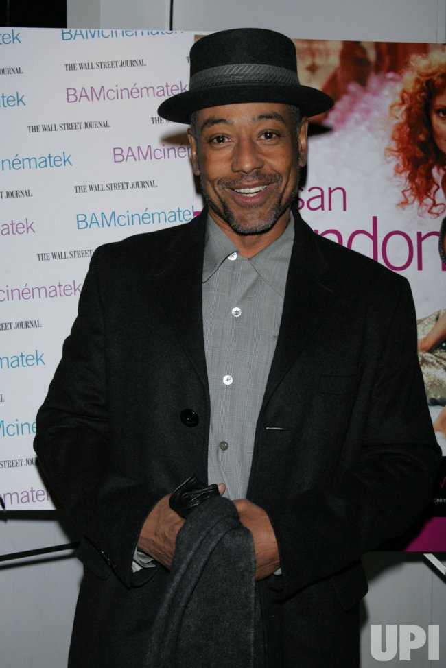 Giancarlo Esposito arrives for the Susan Sarandon Picture Show After Party in New York