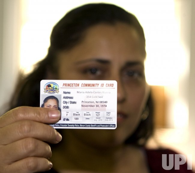 Illegal immigrants get photo identification cards in Princeton, New Jersey