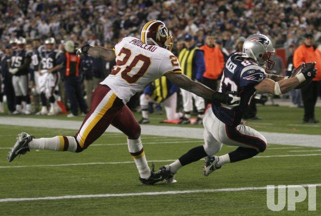 Washington Redskins vs New England Patriots