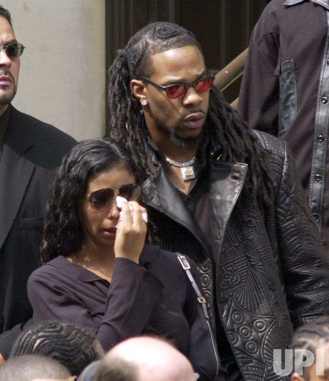 R B Singer Actress Aaliyah Funeral In New York City Upi Com