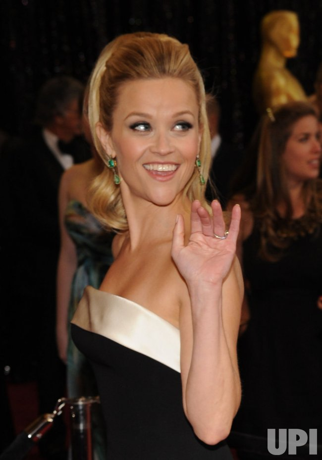 Reese Witherspoon arrives at the 83rd annual Academy Awards in Hollywood