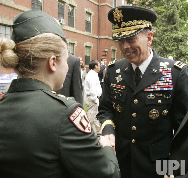 General David Petraeus at Harvard College