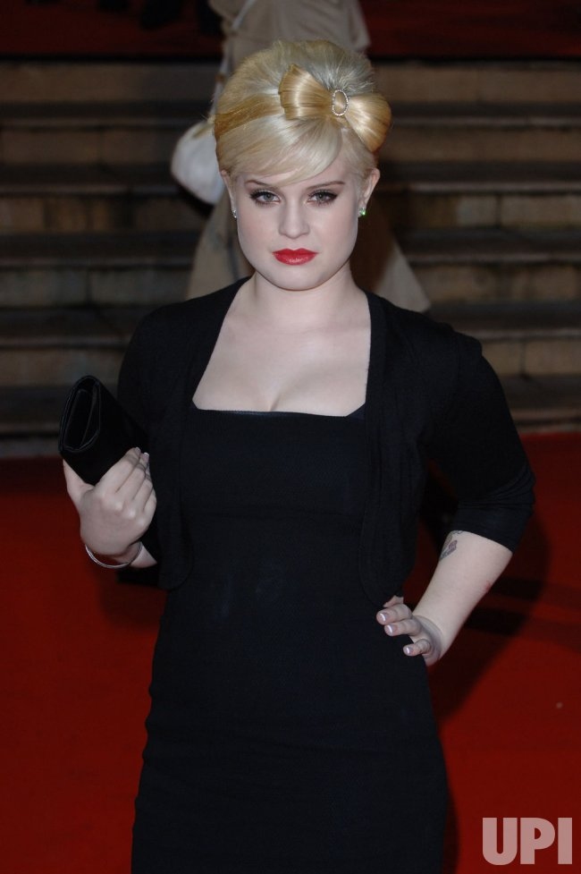 "SINGER KELLY OSBOURNE AT ""BRIT AWARDS"""