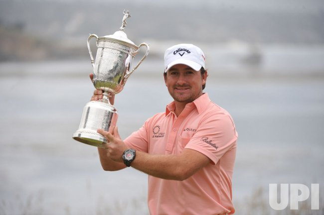 Graeme McDowell wins the 110th U.S. Open in Pebble Beach, California