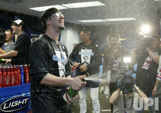 Tampa Bay Rays win American League Championship in Tampa