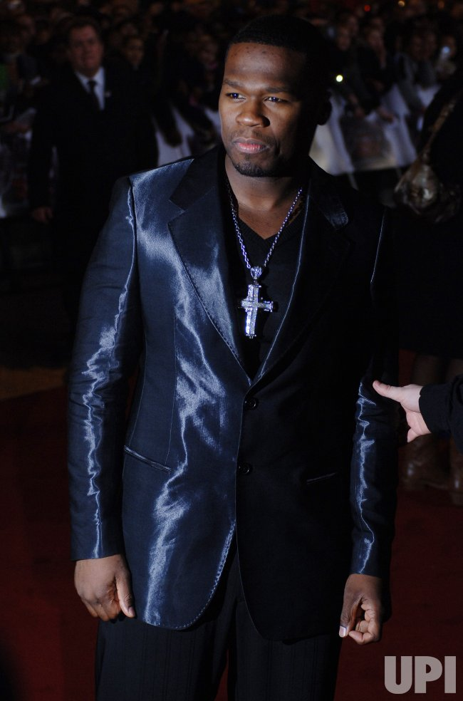 "ACTOR/RAPPER 50 CENT AT ""GET RICH OR DIE TRYING"" BRITISH PREMIERE"