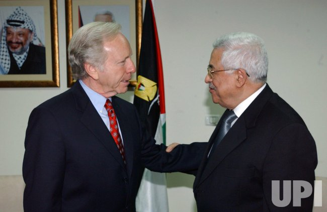 LIEBERMAN MEETS ABBAS IN RAMALLAH