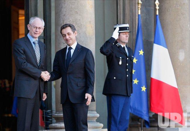 EU President in Paris