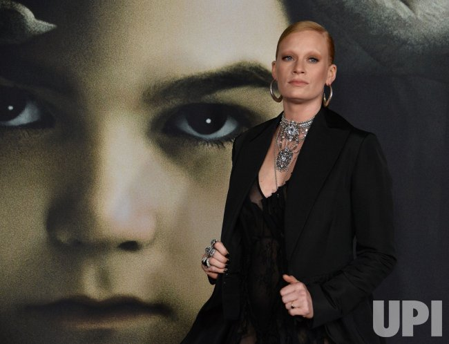 "Denna Thomsen attends ""The Turning "" premiere in Los Angeles."