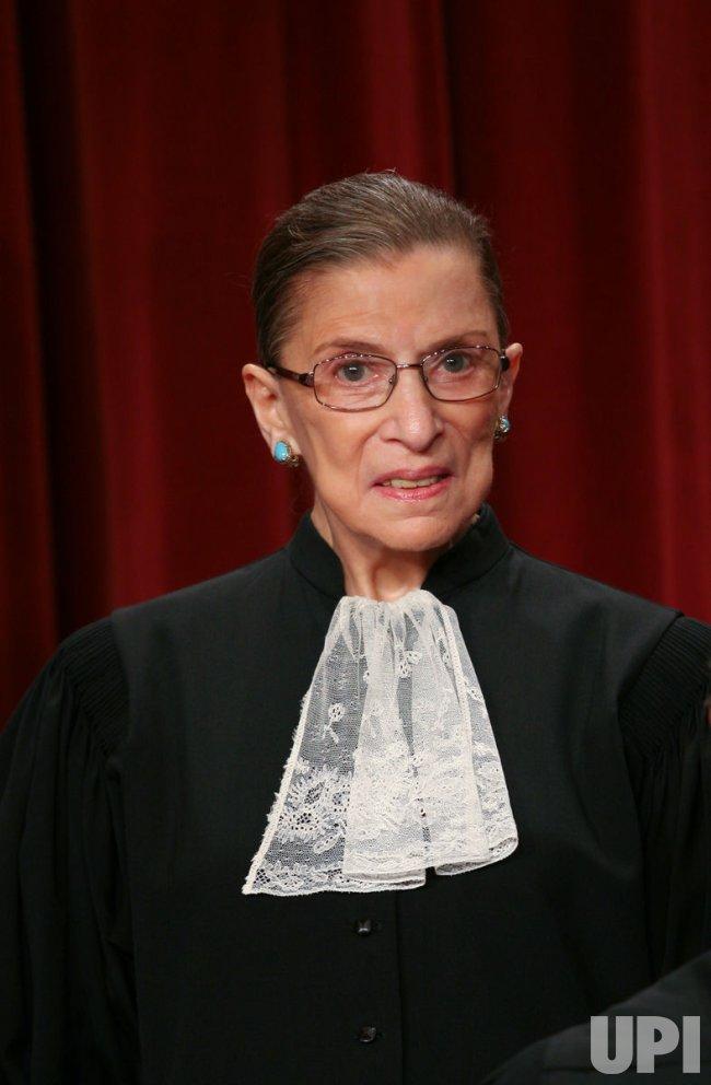 U.S. Supreme Court takes portrait in Washington