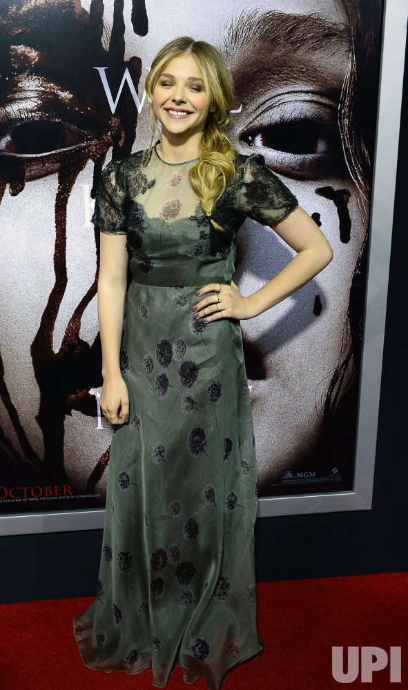 """Carrie"" premiere held in Los Angeles"