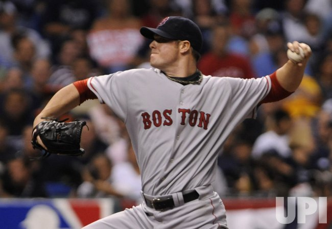 Game six of the ALCS between the Tamp Bay Rays and Boston Red Sox in Tampa Bay