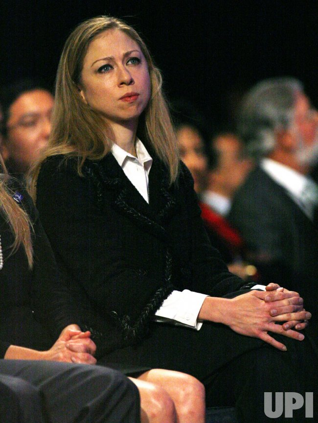 Chelsea Clinton attends at the sixth annual Clinton Global Initiative in New York