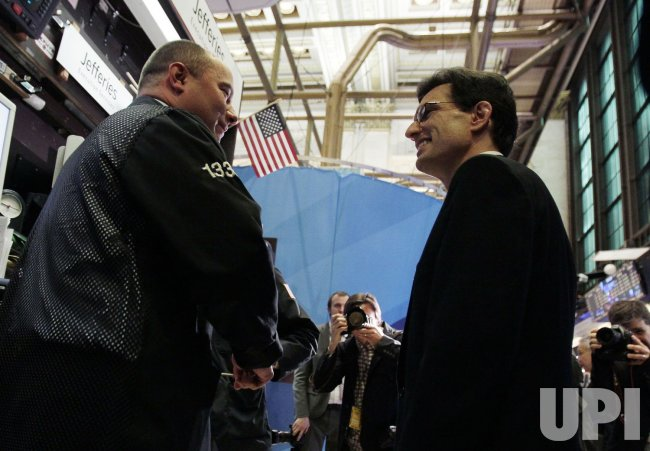 United States Congressman Eric Cantor at the NYSE on Wall Street in New York