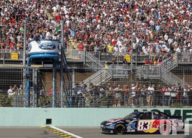 NASCAR Ford 400 at Homestead, Florida