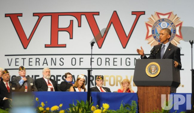 President Obama Addresses VFW Convention in Pittsburgh