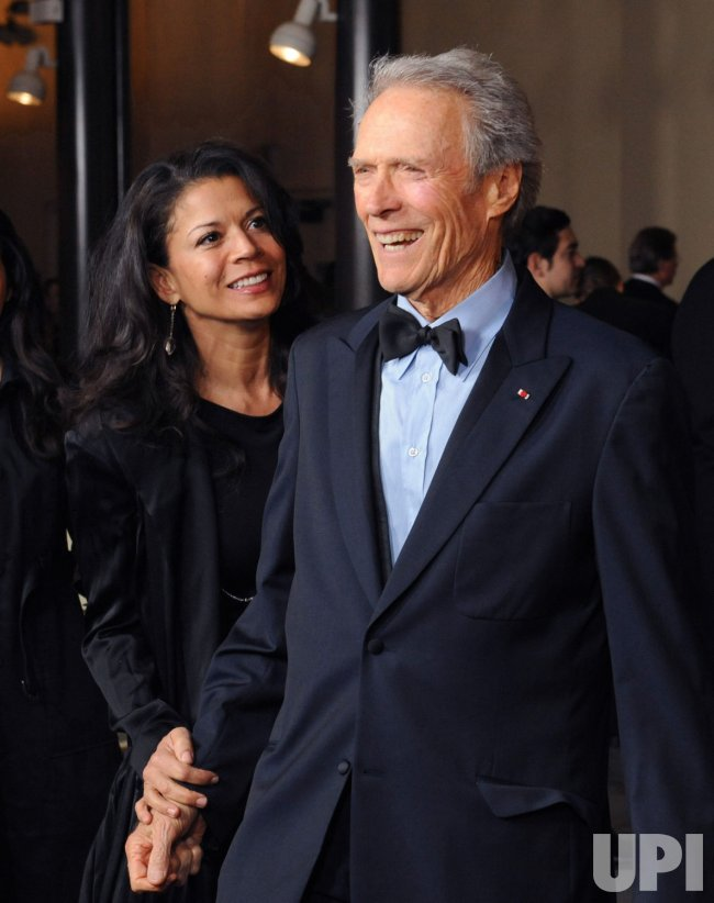 Clint Eastwood and wife Dina arrive at the DGA Awards in Los Angeles