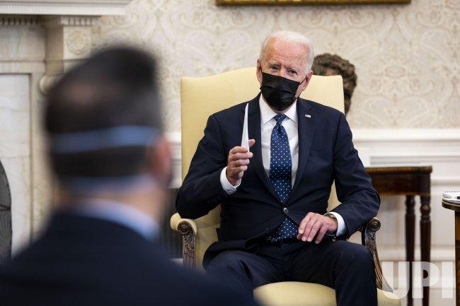 President Biden Meets Congressional Hispanic Caucus in Washington