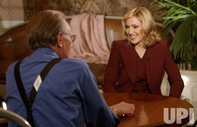 Guy Ritchie, Madonna, appear on Larry King Live