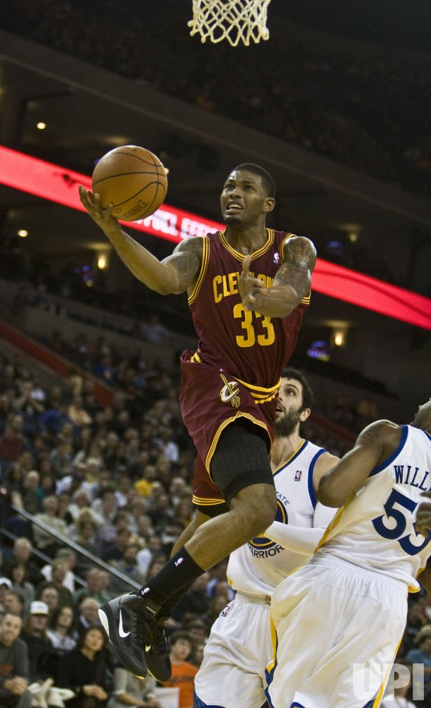 Cavaliers Alonzo Gee gets two in loss to Warriors in Oakland, California