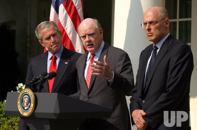PRESIDENT BUSH ANNOUNCES HIS NOMINATION OF PAULSON TO SECRETARY OF TREASURY