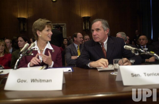 Christine Todd Whitman confirmation hearings