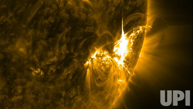 SUNSPOT 1515 RELEASES X1.1 CLASS SOLAR FLARE