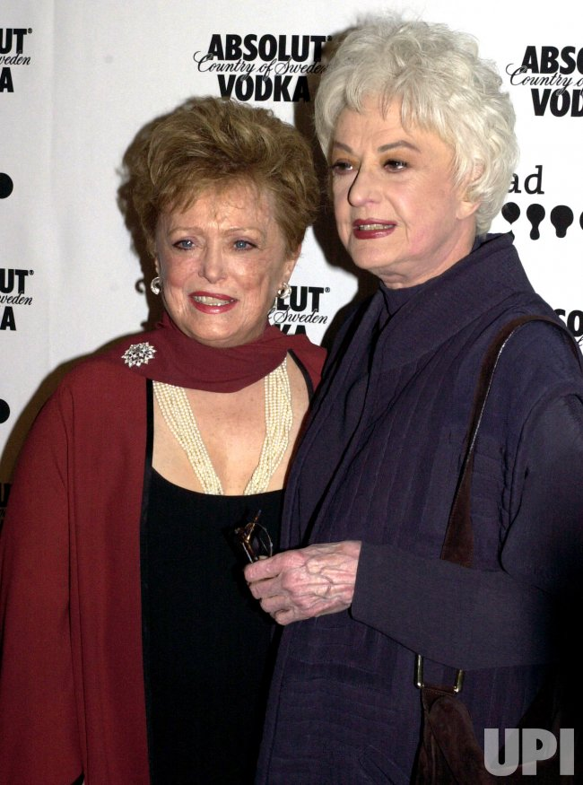 Rue Mclanahan and Bea Arthur attend the 13th Annual Glaad Media Awards