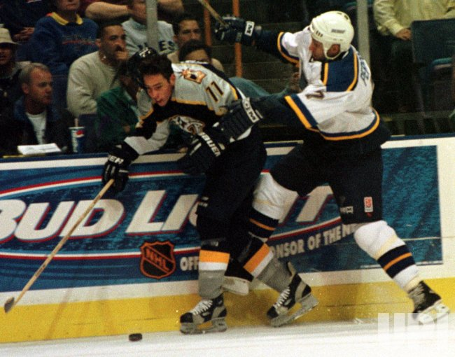 St. Louis Blues vs Nashville Predators hockey