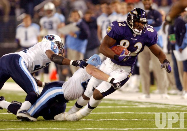TENNESSEE TITANS AT BALTIMORE RAVENS