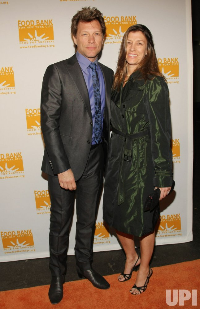 Jon Bon Jovi and his wife Dorothea Hurley attend the Can Do Awards in New York