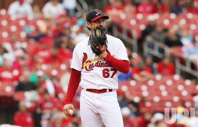 St. Louis Cardinals pitcher Matt Bowman