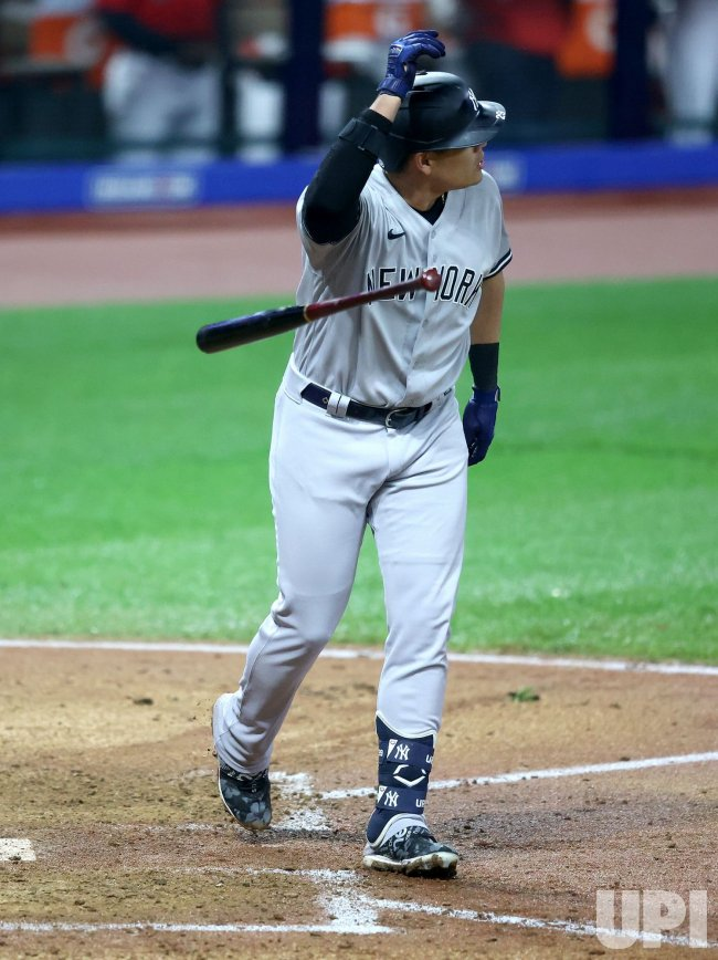 New York Yankees vs Cleveland Indians Wild Card Game in Cleveland