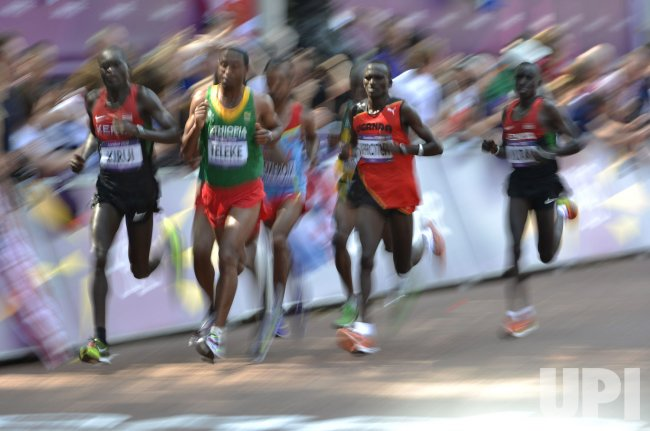 Men's Marathon at 2012 Olympics in London