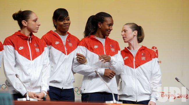 US Women's basketball team discusses Olympic medal bid in Beijing