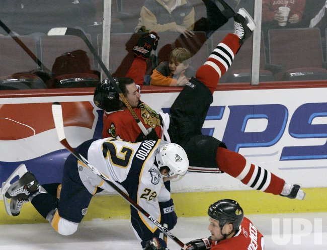 NASHVILLE PREDATORS VS CHICAGO BLACKHAWKS