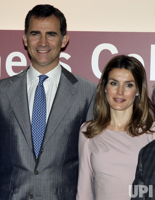 """Spain's Crown Prince Felipe and Princess Letizia Host a """"Global Business Colloquium"""" at IESE Business School-University of Navarra's in New York"""