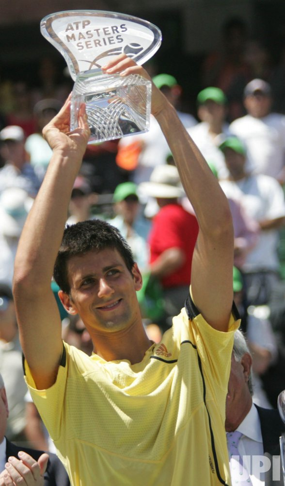 SONEY ERICSSON OPEN DJOKOVIC VS CANAS IN FLORIDA