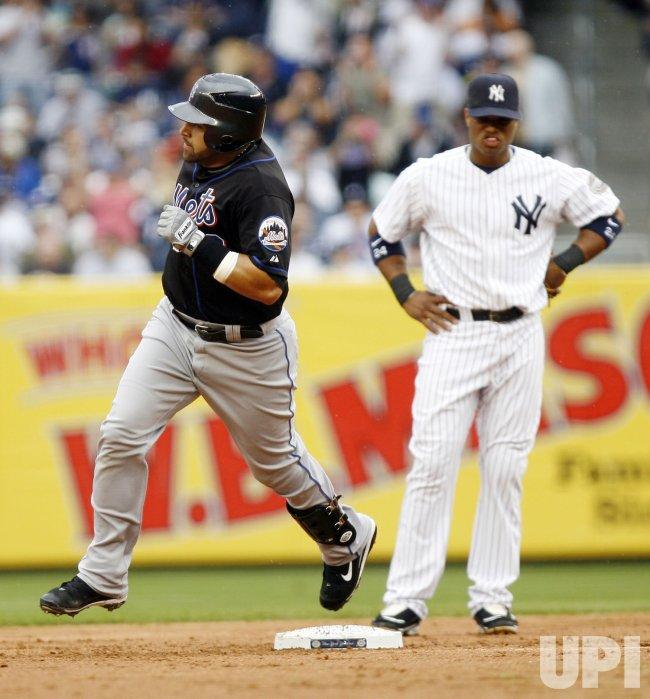 New York Mets at New York Yankees at Yankee Stadium in New York