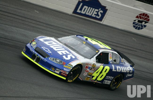 JIMMIE JOHNSON RACES IN COCA-COLA 600 NASCAR RACE