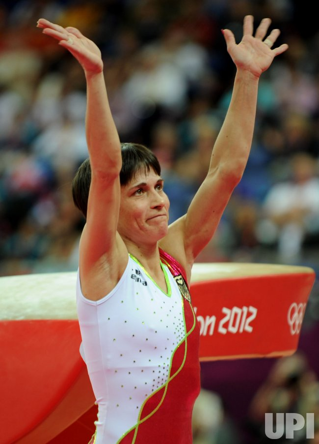 Women's Gymnastics Vault Apparatus Final at London Olympics
