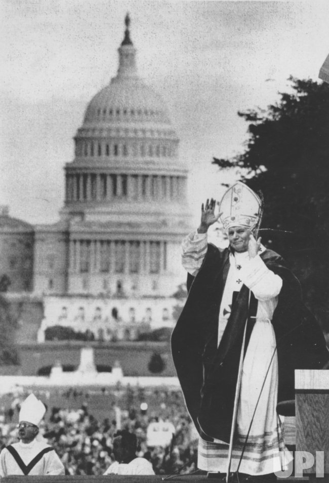 John Paul II in Washington DC