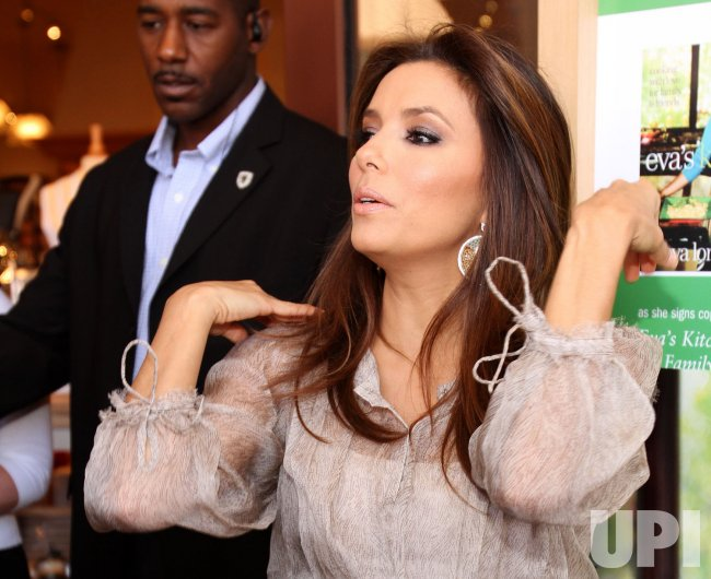 Eva Longoria holds book signing in Miami