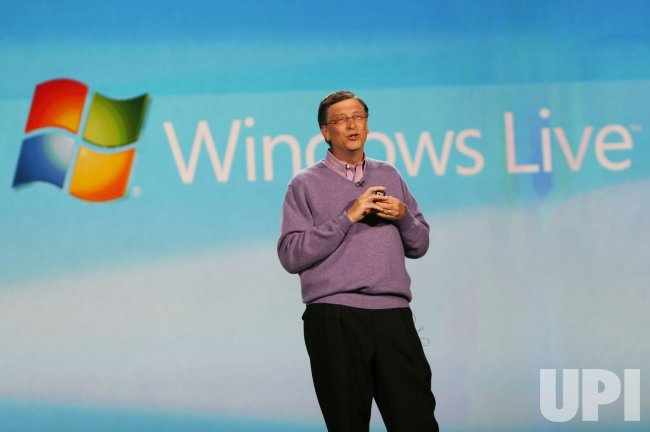 Bill Gates Delivers Keynote Address At Consumer Electronics Show in Las Vegas