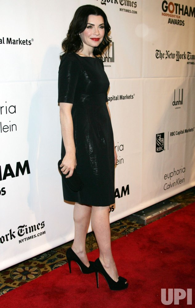 Julianna Margulies arrives for the 20th Anniversary of the Gotham Independent Film Awards in New York